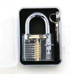 Transparent padlock 1